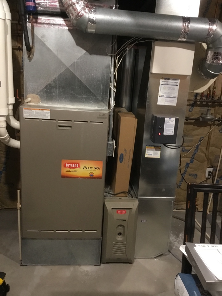 Minnetonka, MN - Furnace tune up. Furnace is ready for the winter!