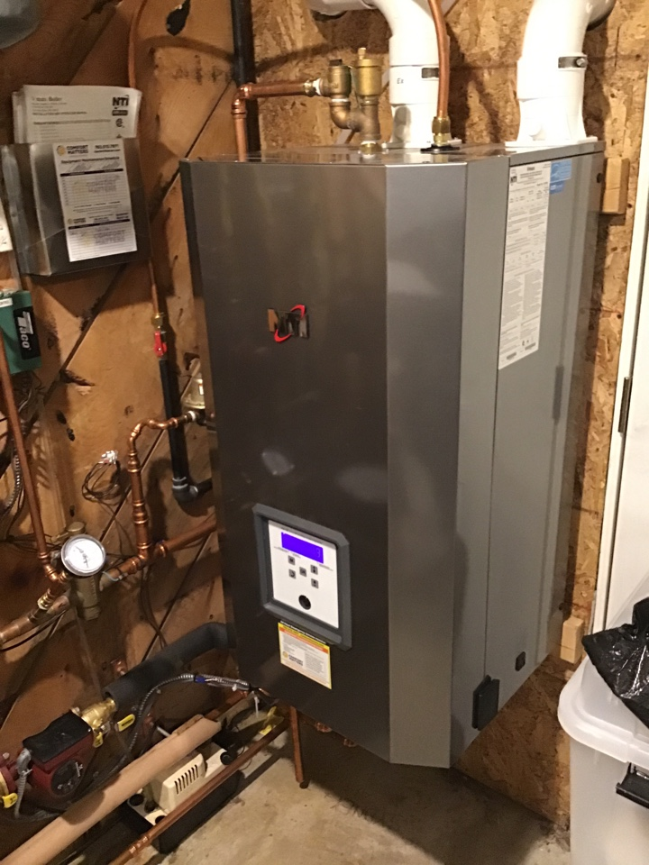 Golden Valley, MN - I performed a precision tuneup on a high efficient NTI boiler