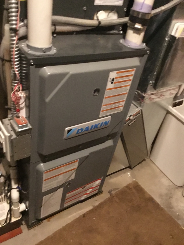 Champlin, MN - Furnace tune up. Entire HVAC system is in terrific shape for winter!