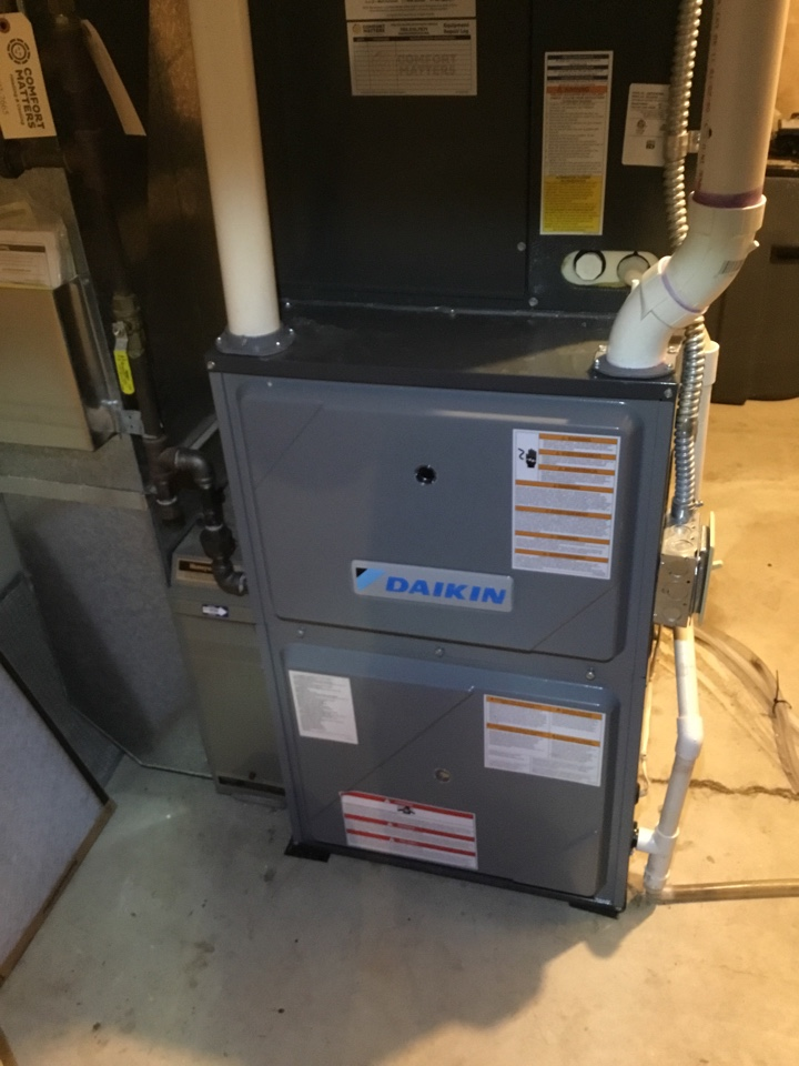 Blaine, MN - Furnace tune up. Furnace is in terrific shape for the winter!