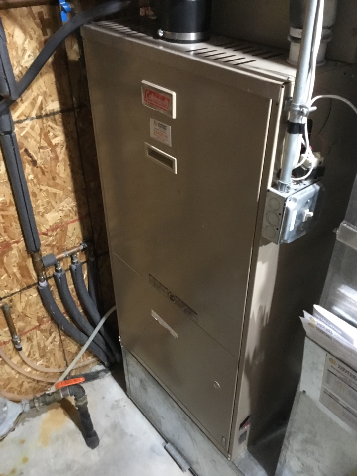 Minnetrista, MN - Furnace tune up. Performed maintenance on Coleman furnace and replaced blower motor booster.