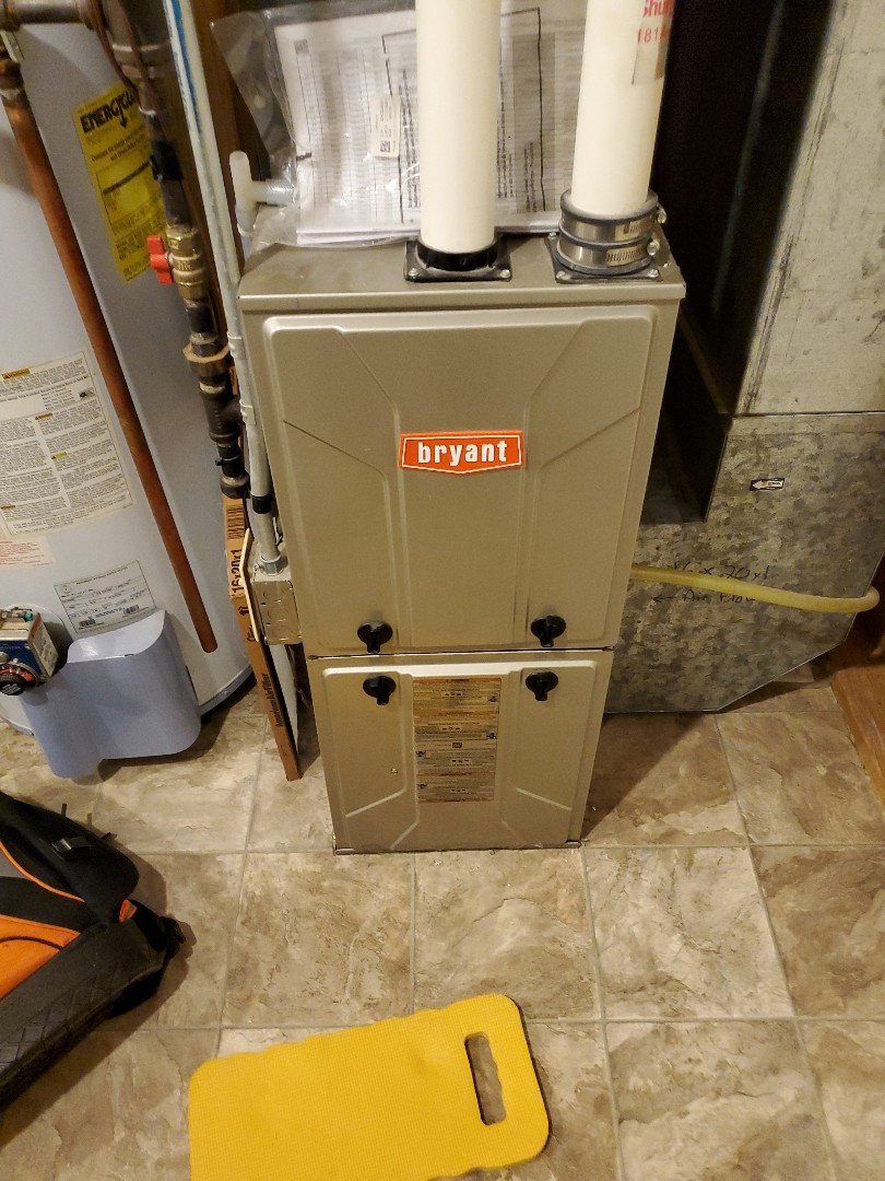 Andover, MN - Tune up on a Bryant furnace