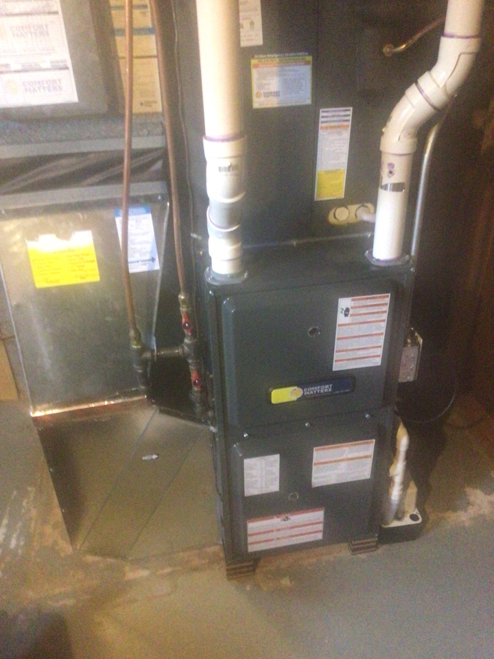 Albertville, MN - Furnace precision tune up on Goodman furnace