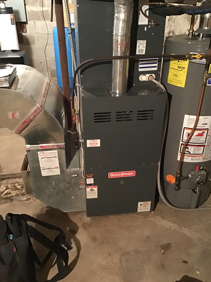 Loretto, MN - I performed a precision tuneup on a Goodman furnace