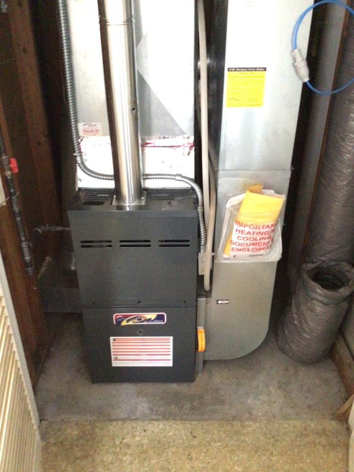 Plymouth, MN - Heating tune up on Goodman furnace