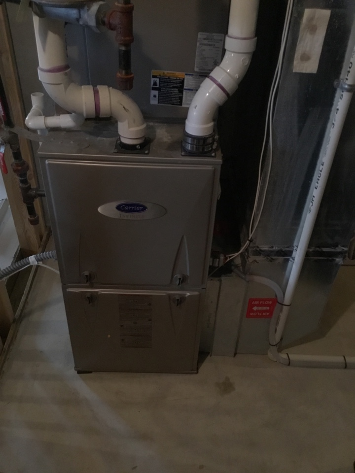 Rogers, MN - Furnace tune up. Furnace is in terrific shape for the winter!