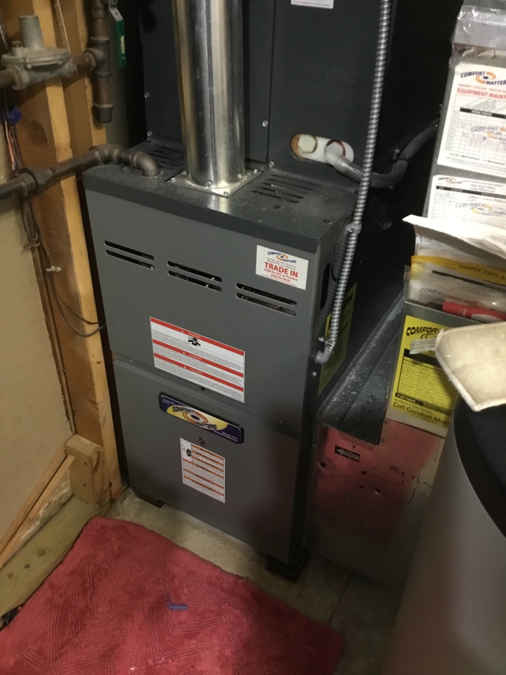 Osseo, MN - Furnace tune up. Furnace is in terrific shape for the winter!