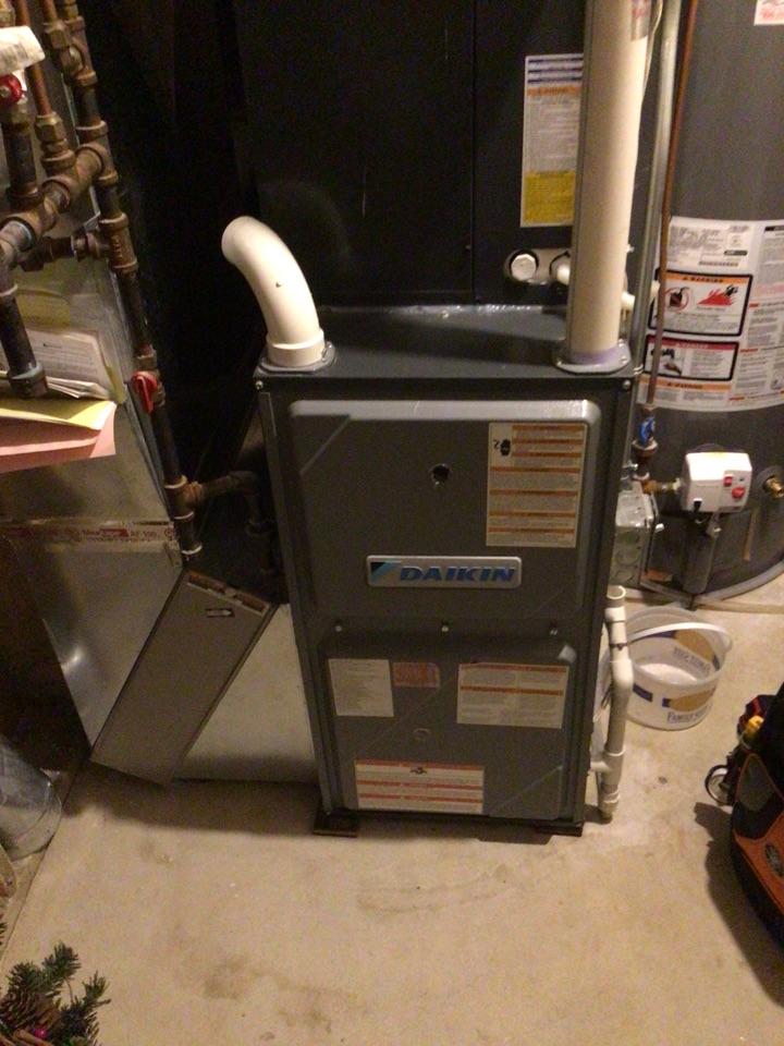Brooklyn Park, MN - Daikin furnace precision tune up