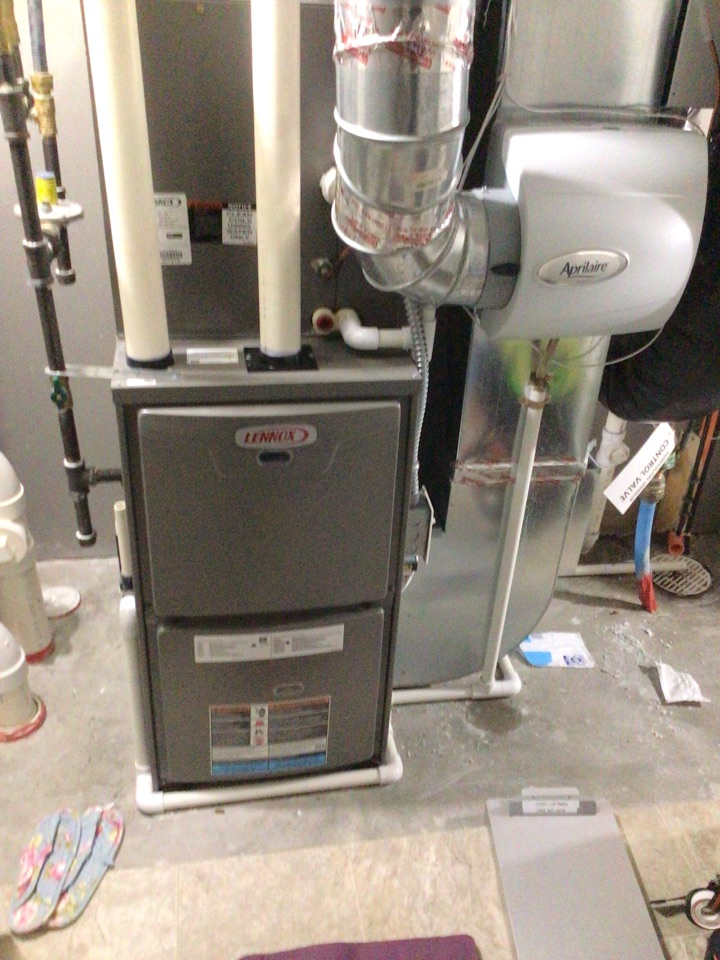 Brooklyn Park, MN - Lennox furnace precision tune up