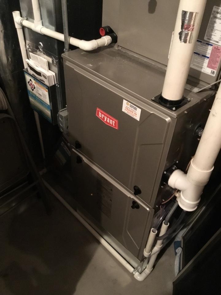 Saint Michael, MN - Furnace tune up. Performed maintenance on Bryant furnace.