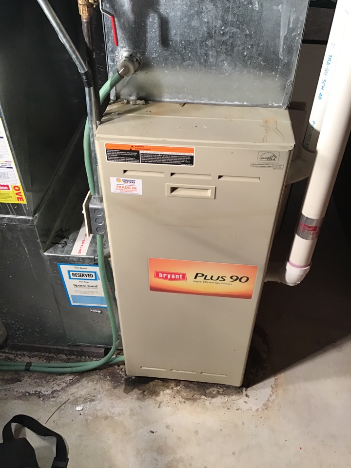 Rogers, MN - I performed a precision tuneup on a high efficient Bryant furnace