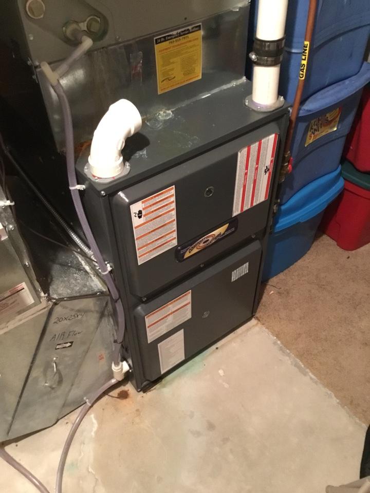 Hanover, MN - Furnace tune up. Performed maintenance on Goodman furnace.
