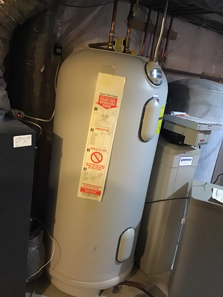 Rogers, MN - I diagnosed a failed thermostat on a Marathon water heater