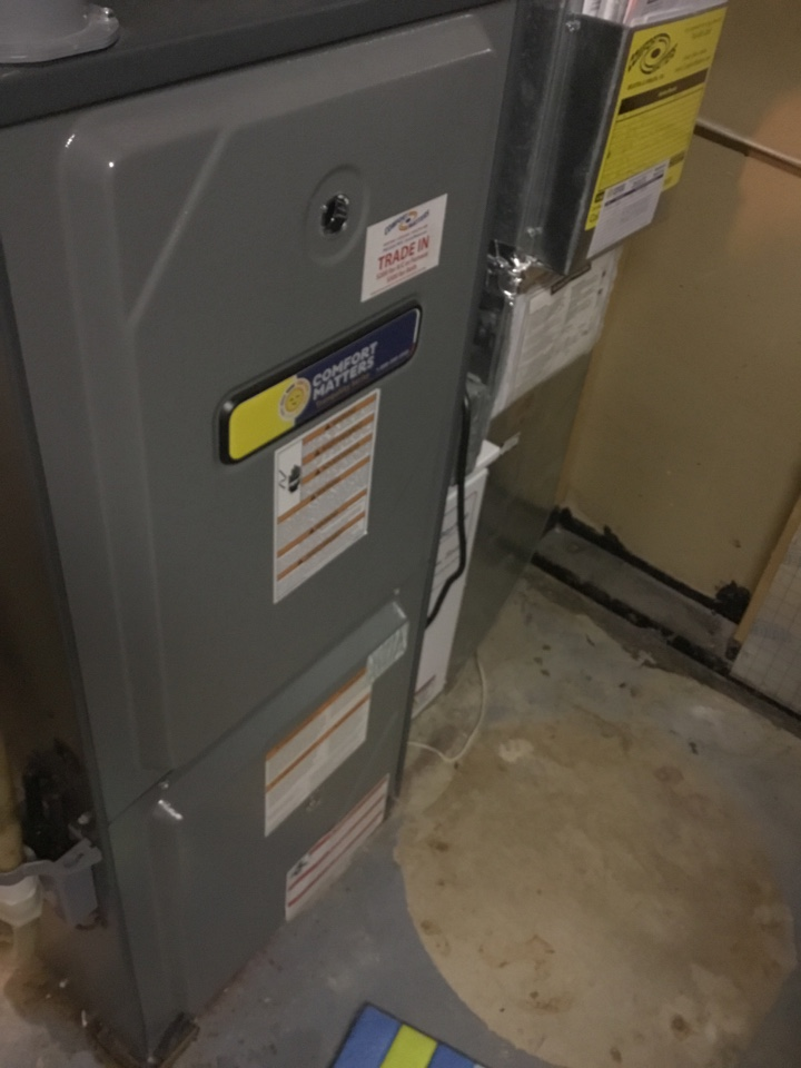 Loretto, MN - Furnace tune up. Furnace is in terrific shape for the winter!