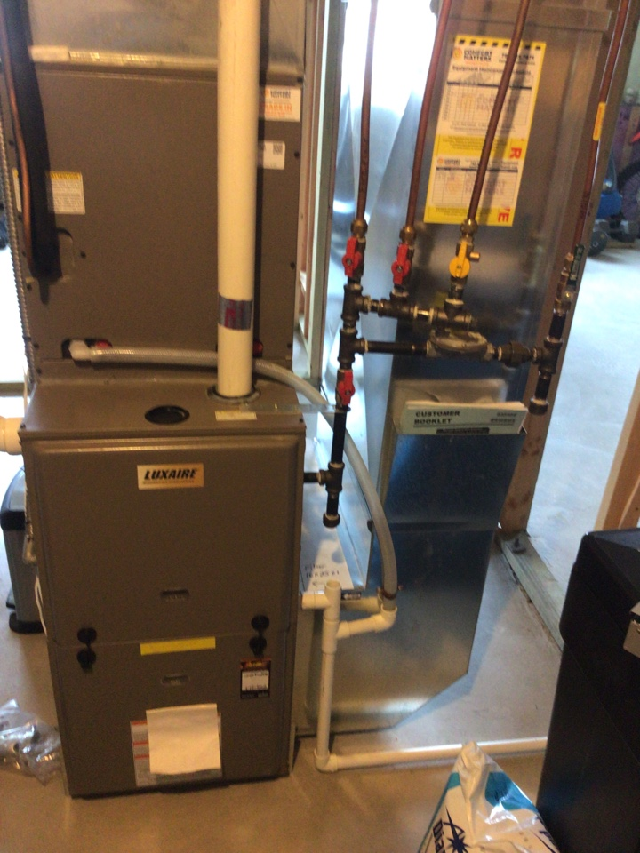 Hanover, MN - Luxaire furnace precision tune up