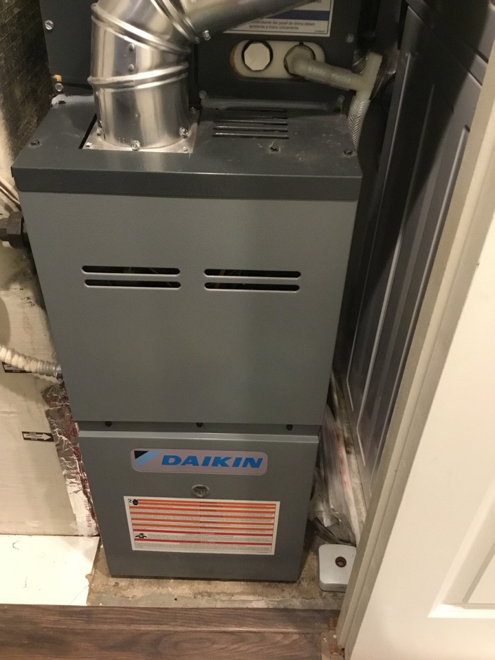 Eden Prairie, MN - Furnace tune up. Furnace is in terrific shape for the winter!