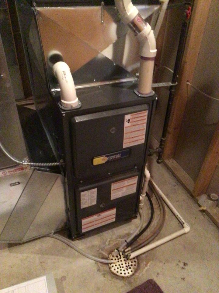 Rogers, MN - Heating maintenance on Goodman furnace