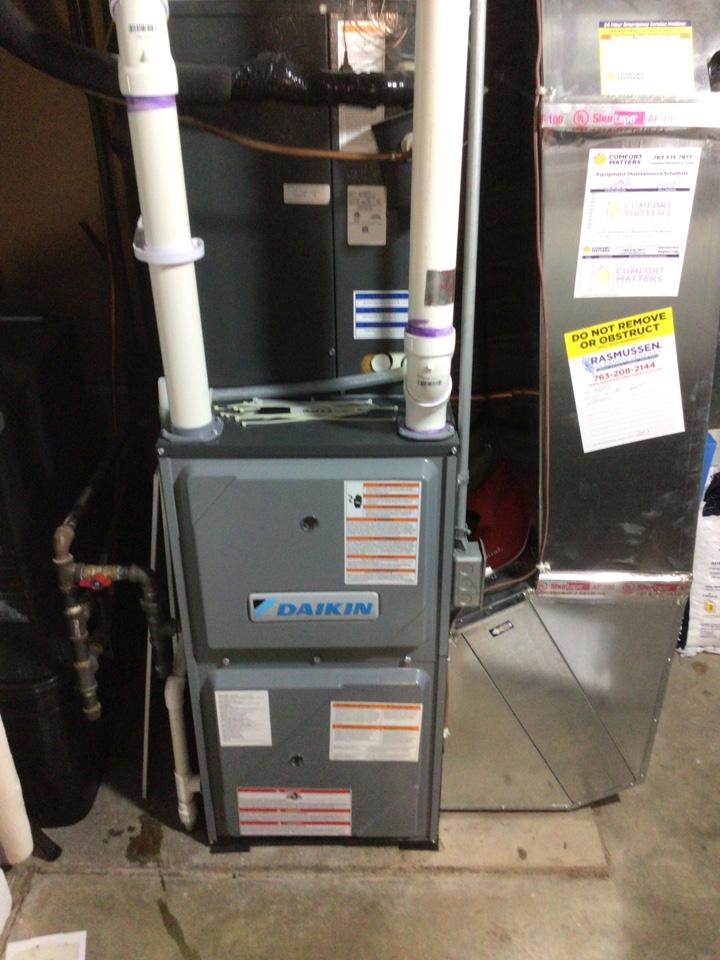Excelsior, MN - Daikin furnace precision tune up