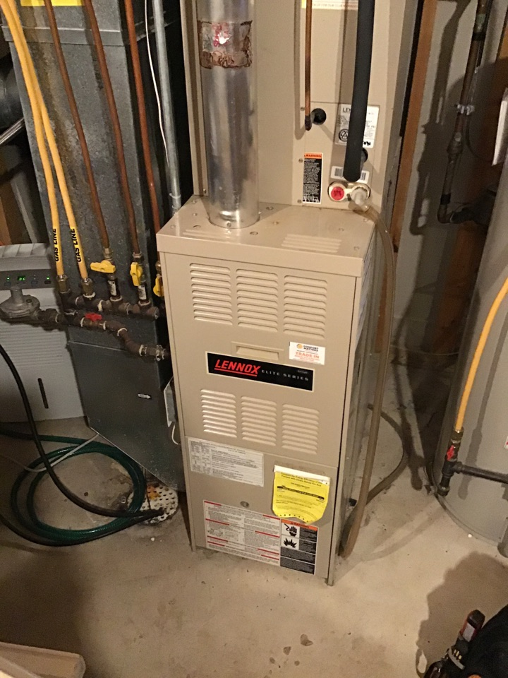 Monticello, MN - I performed a precision tuneup on a Lennox furnace