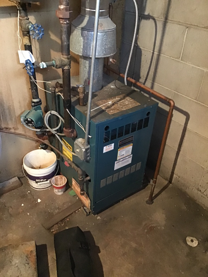 Buffalo, MN - I performed a precision tuneup on a Burnham boiler