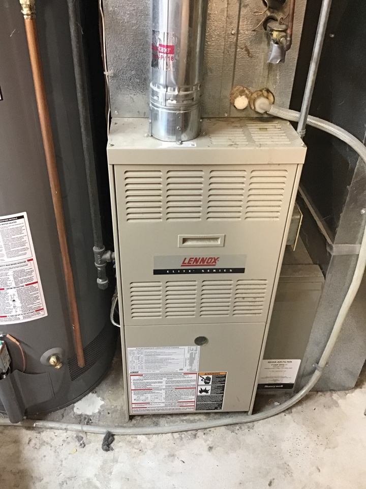 Dayton, MN - I performed a precision tuneup on a Lennox furnace