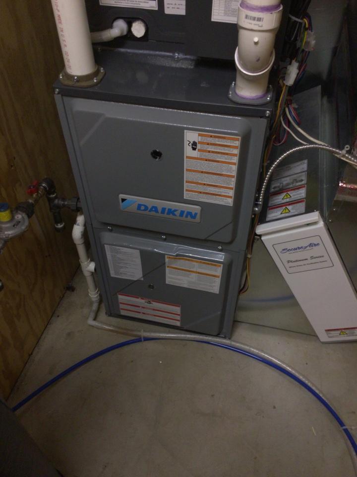 Rockford, MN - Daikin furnace precision tune up