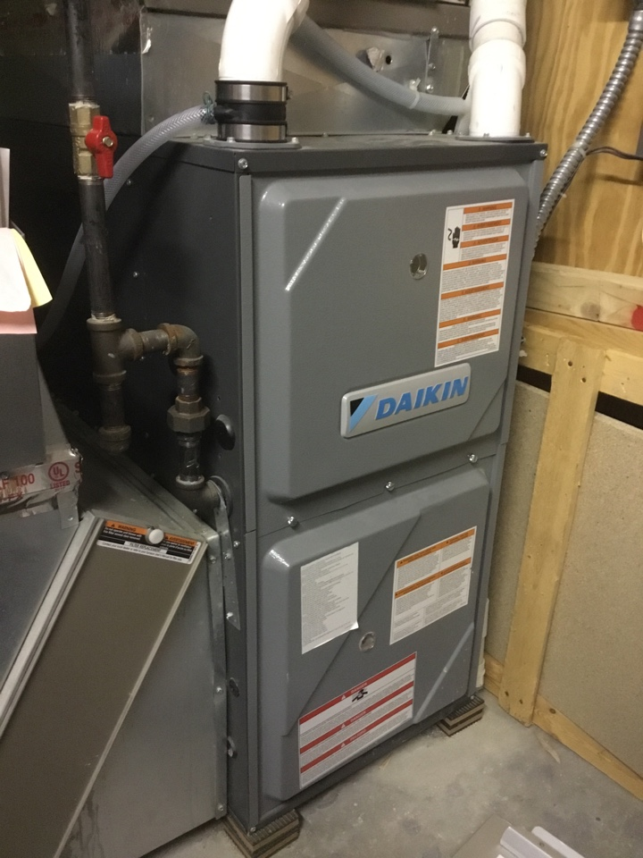 Ramsey, MN - Furnace repair. Furnace is up and running, and ready for the cold weather!
