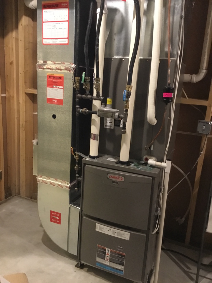 Blaine, MN - Furnace service. Furnace is in up and running!