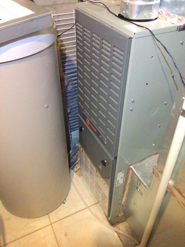 Eden Prairie, MN - Trane furnace precision tune up