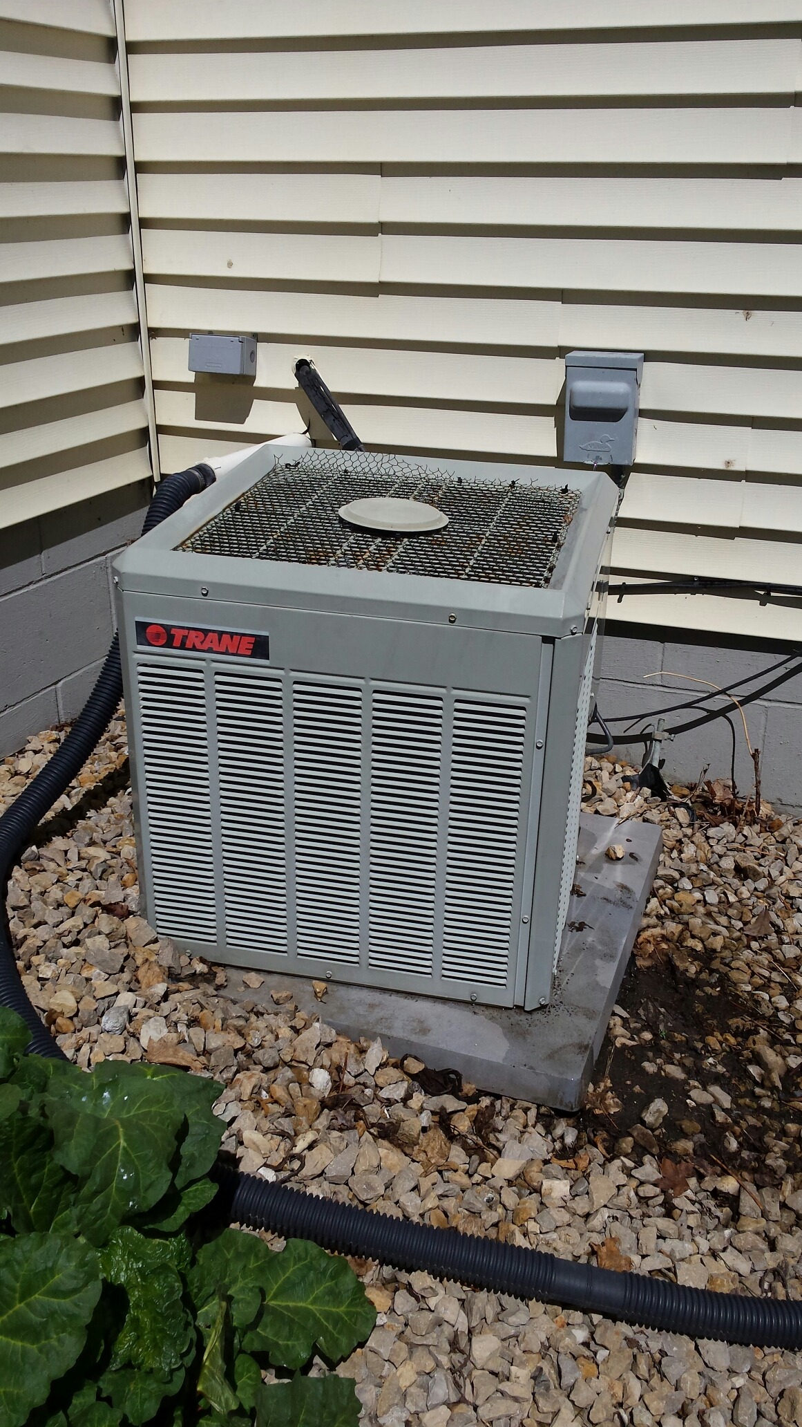 Furnace Air Conditioning Repair In Rockford Mn Have A Trane Xv90 With Ac Trying To Install Honeywell Tune Up On