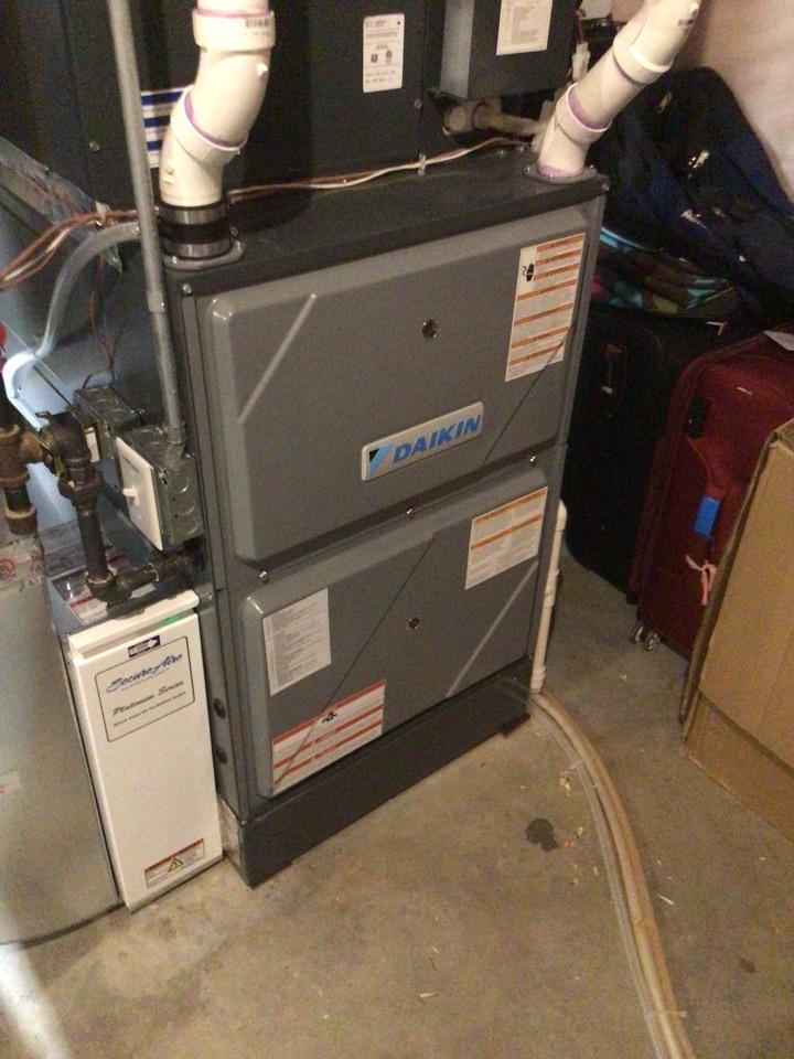 Long Lake, MN - Daikin furnace precision tune up