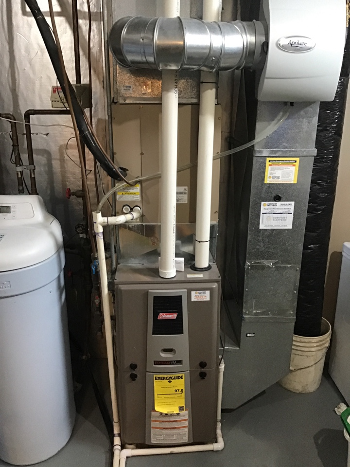 Rockford, MN - I diagnosed a failed pressure switch on a Coleman furnace