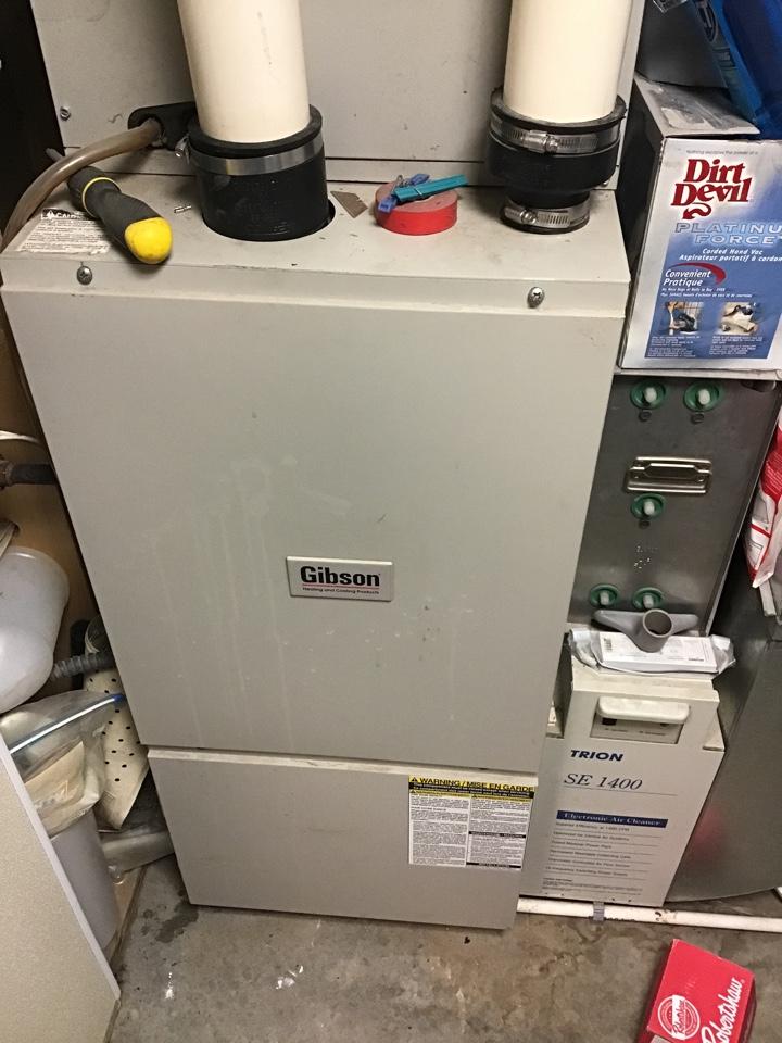 Big Lake, MN - I diagnosed a failed control board on a Gibson furnace