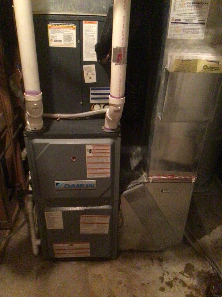 Eden Prairie, MN - Daikin furnace precision tune up