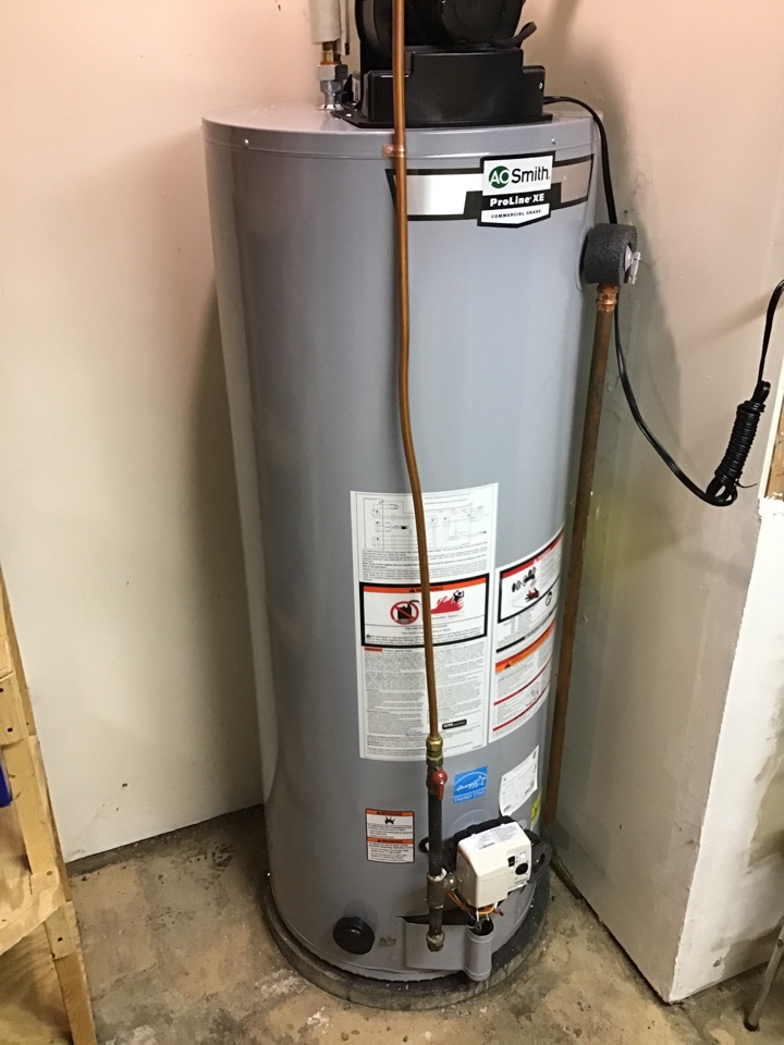 Corcoran, MN - I removed a anode rod from a AO smith water heater