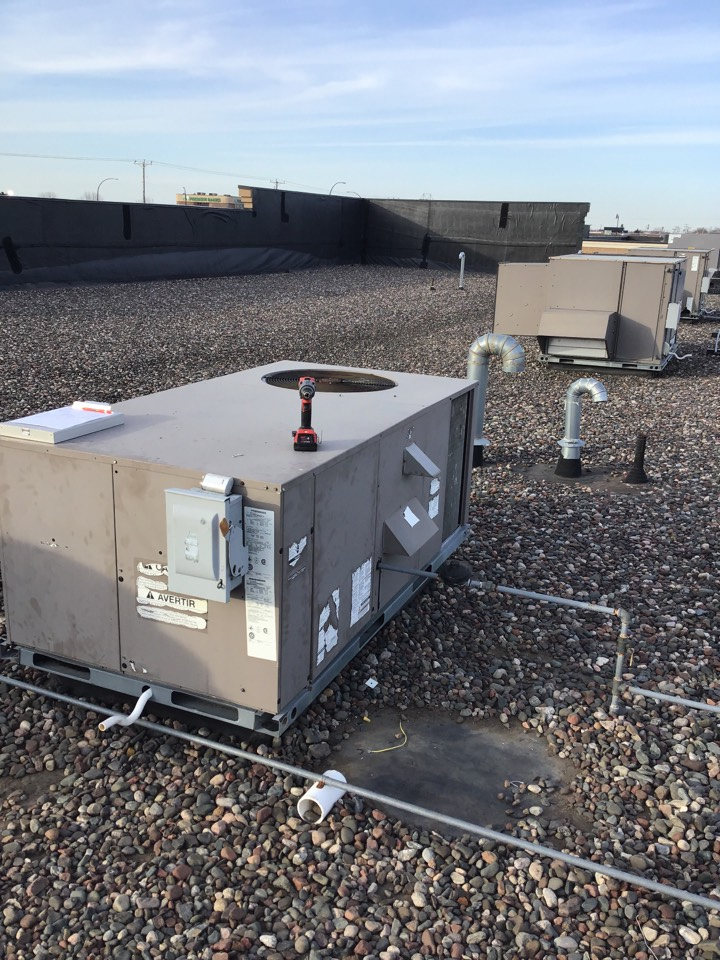 Monticello, MN - I repaired broken wires on a York rooftop unit