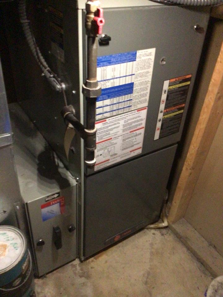 Monticello, MN - Trane furnace precision tune up