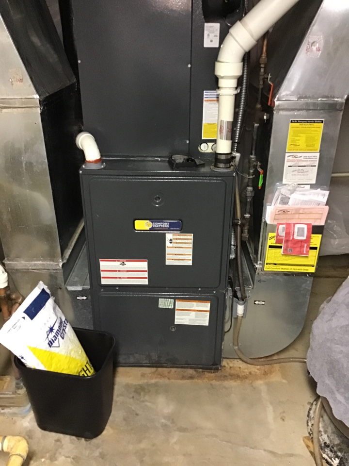 Hanover, MN - I performed a precision tuneup on a high efficient Goodman furnace