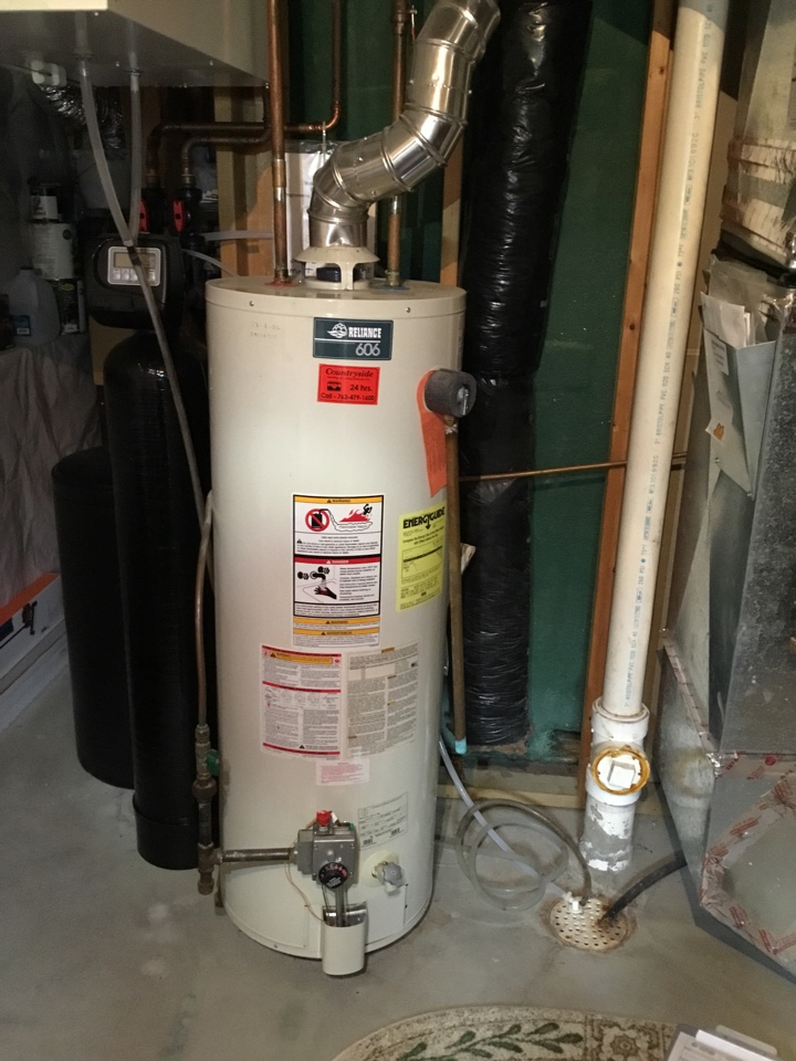 Loretto, MN - Water heater service. Water heater is up and running!