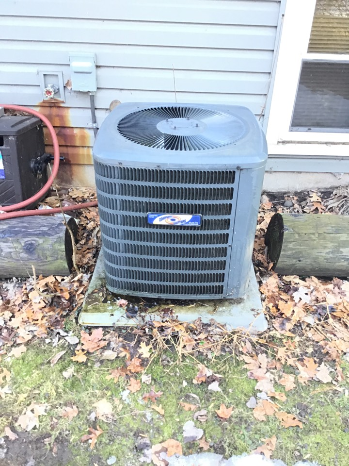 Elk River, MN - I performed a precision tuneup on a Goodman air conditioner