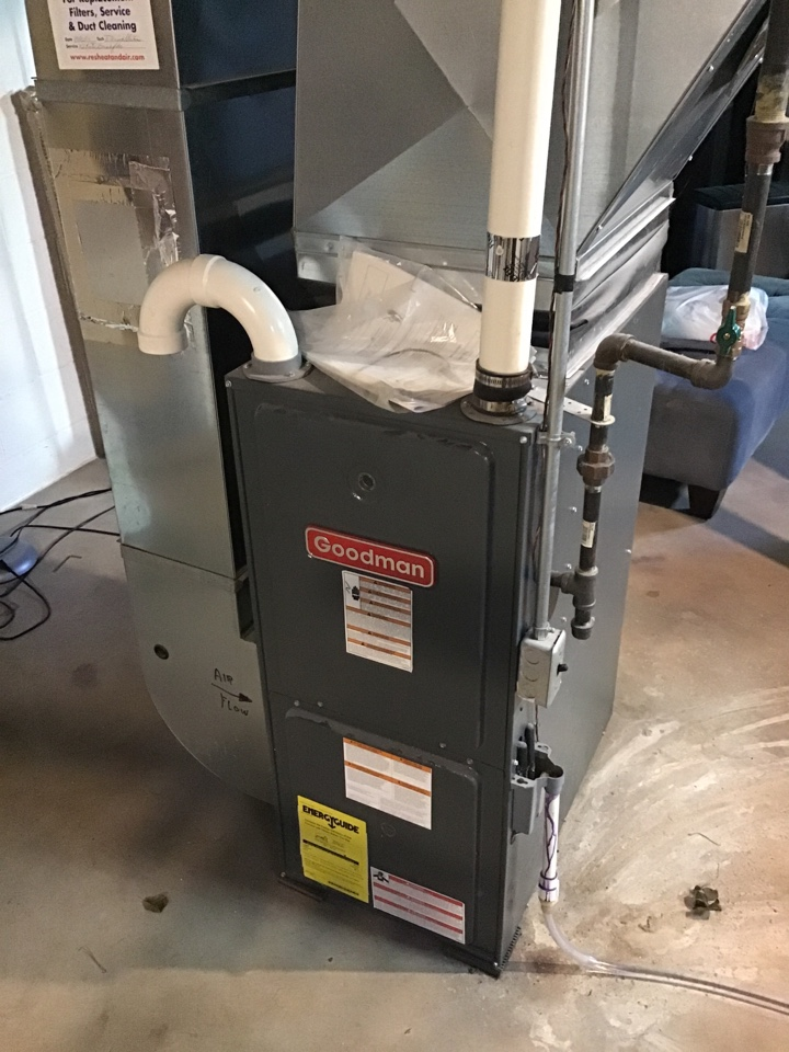 Robbinsdale, MN - I replaced a failed flame safety on a Goodman furnace