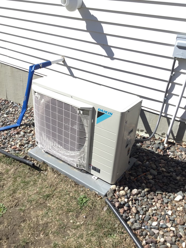 Elk River, MN - Performed Ac tune up on Daikin Fit system