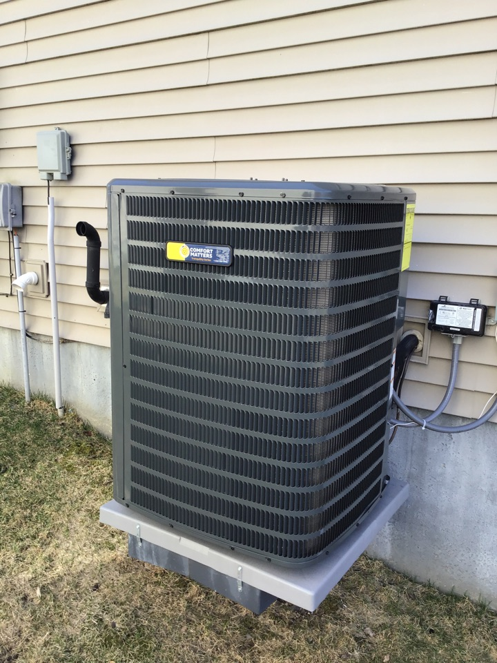 Saint Michael, MN - I performed a startup on a Goodman air conditioner
