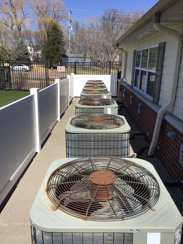 Plymouth, MN - I performed annual maintenance on nine Payne air conditioners