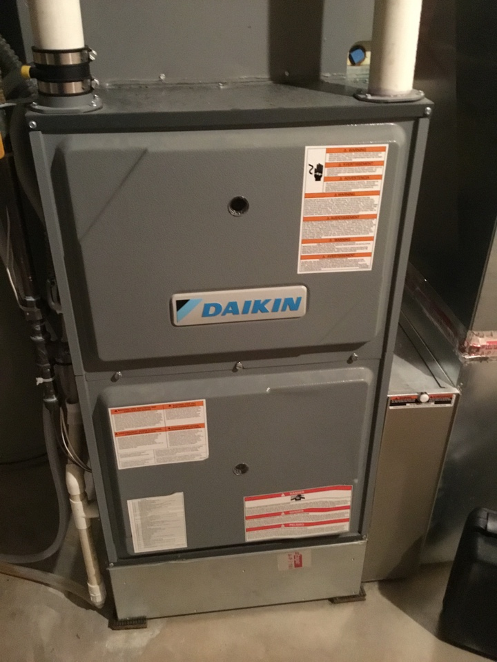 Delano, MN - Furnace tune up. Furnace is in terrific shape!