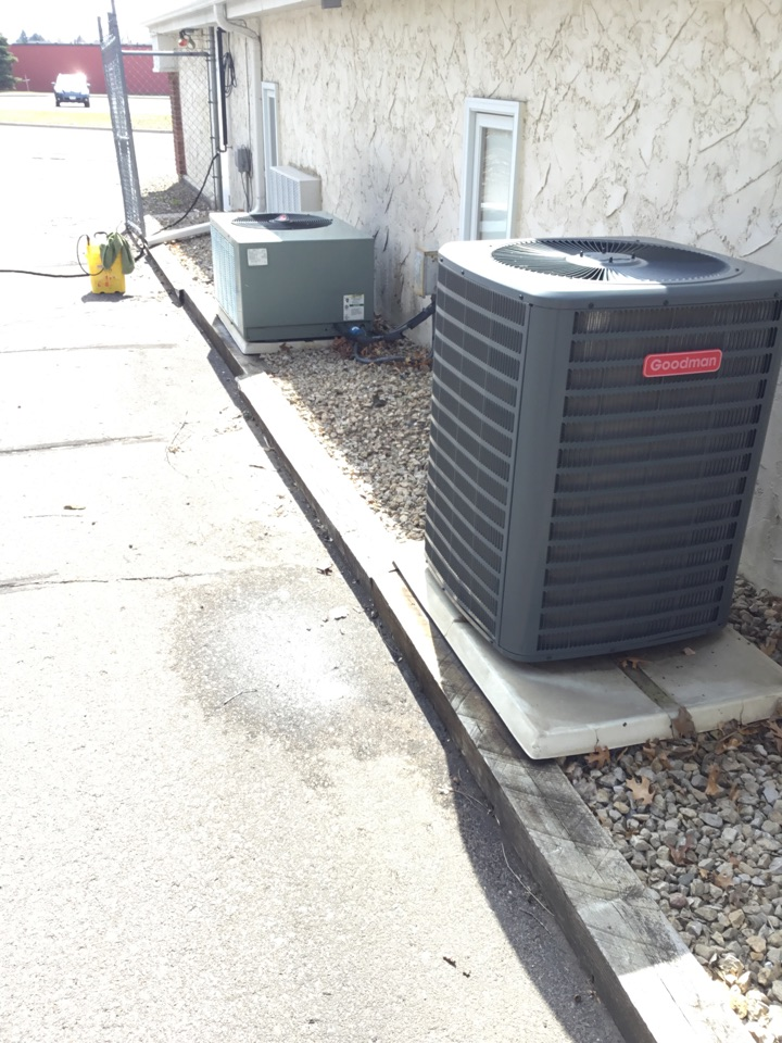 Elk River, MN - Ac tune up on Goodman air conditioner