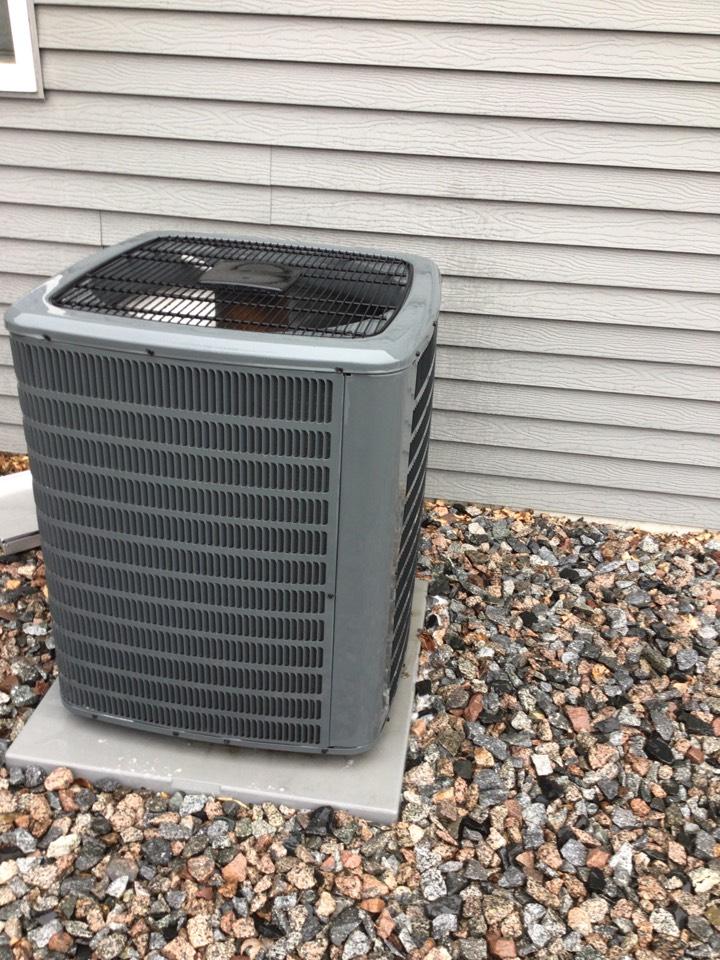 Saint Michael, MN - Goodman air conditioner maintenance. Precision tune up on air conditioner