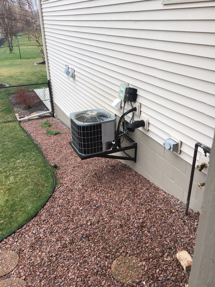 Saint Michael, MN - Performed a cleaning and tune up