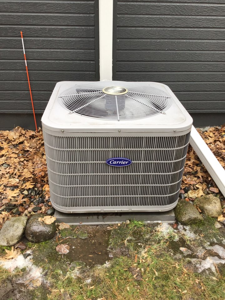 Saint Michael, MN - I performed annual maintenance on a Carrier air conditioner