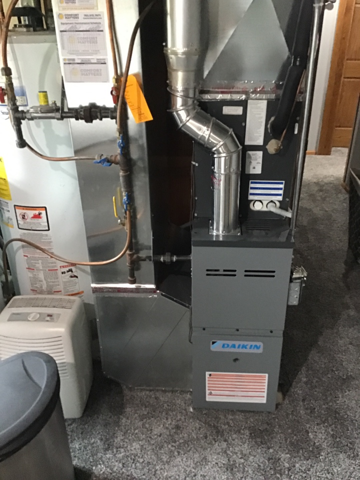 Elk River, MN - I replaced a failed flame safety on a Daikin furnace